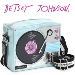 🆕 Play It DJ 🎶 Crossbody Bag Betsey Johnson